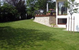 Gartengestaltung mit Jurakalkstein