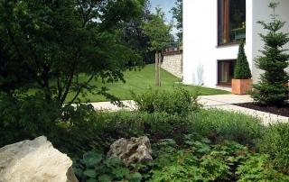 Gartengestaltungen Rollrasen