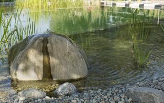 Gartengestaltung Teichbau Quellstein