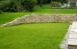 Naturstein Mauern Terrassen Wege