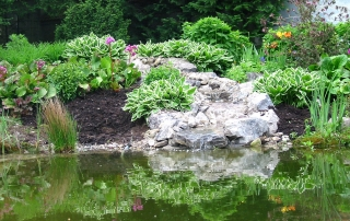 Gartengestaltung Teichbau